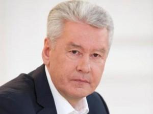 Мэр Москвы Сергей Собянин открыл новую смотровую площадку на крыше Главного входа в Парк Горького