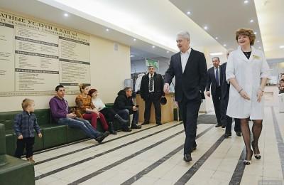 Мэр Москвы, Сергей Собянин, московская поликлиника