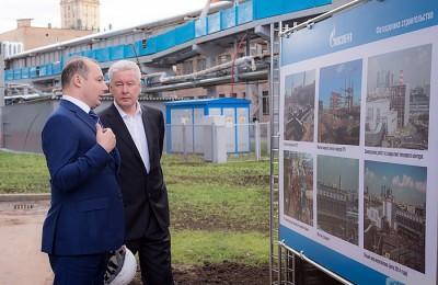 Мэр Москвы Сергей Собянин посетил ТЭЦ-12