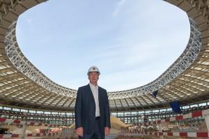 Сергей Собянин отметил, что реконструкция «Лужников» идет с опережением графика