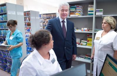 Мэр Москвы Сергей Собянин объявил о старте электронных сервисов