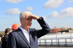 Северо-Западная хорда свяжет четыре района столицы, рассказал мэр Москвы Сергей Собянин