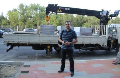 Михаил Андрианов уделяет много времени благоустройству района