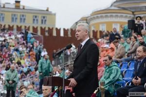Сергей Собянин поздравил москвичей с праздником города