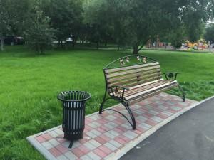 Недавно открытый Народный парк стал гордостью нашего района
