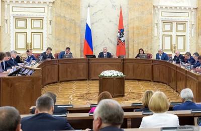 На заседании Правительства мэр Москвы Сергей Собянин объявил о лидерстве города по прозрачности госзакупок