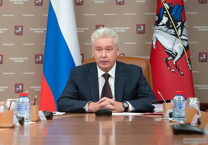 Собянин: Приоритеты инвестпрограммы Москвы  до 2018 года - транспортная и социальная сферы