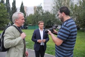 Депутаты Москворечья-Сабурова: Андрей Кузьмин, Иван Тимохов и Михаил Андрианов