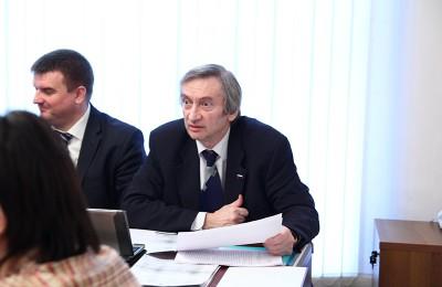 Очередное заседание провел глава муниципального округа Михаил Вирин