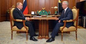 Об инвестиционных прогнозах и транспортной ситуации в Москве Сергей Собянин рассказал Владимиру Путину