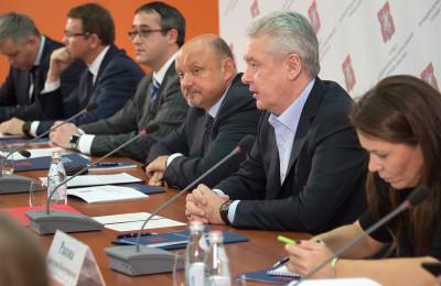 Мэр Москвы Сергей Собянин: Все средства от платных парковок направляются на благоустройство районов