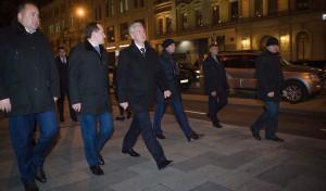 Сегодня мэр Москвы Сергей Собянин посетил обновленную Неглинную улицу