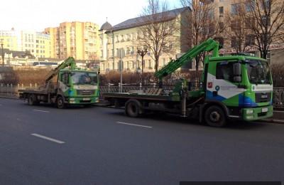 За неправильную парковку в столице эвакуируют машины
