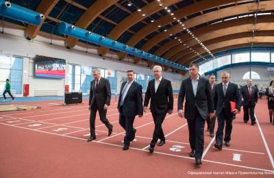 Мэр Москвы Сергей Собянин: Власти города активно поддерживают студенческий спорт