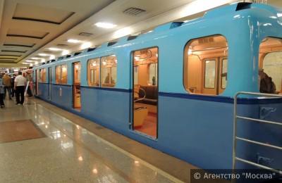 Еще один именной поезд появится в столичном метрополитене