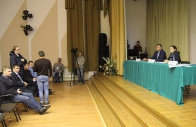Встреча с главой управы района Москворечье-Сабурово