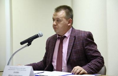 Первый заместитель главы управы района Москворечье-Сабурово Иван Лахно провел встречу с населением
