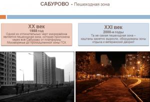 Скриншот с презентации новой исторической рубрики