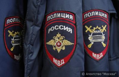 В районе Москворечье-Сабурово задержан преступник, находящийся в розыске