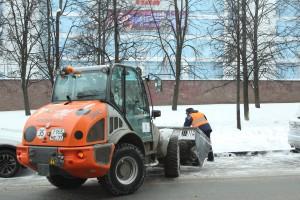 Снег в районе Москворечье-Сабурово убирается согласно регламенту