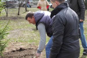 В районе Москворечье-Сабурово планируется благоустроить большой участок дворовой территории