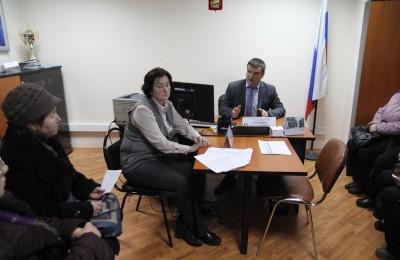 В районе Москворечье-Сабурово для жителей провели консультацию по капремонту