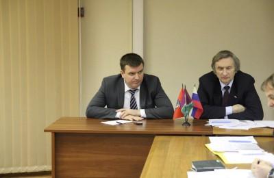Депутаты ознакомились с отчетом главы управы района Москворечье-Сабурово о работе за 2015 год
