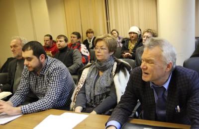 Депутаты муниципального округа Москворечье-Сабурово провели очередное заседание