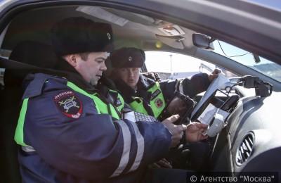 Еженедельные рейды полиции проходят в районе Москворечье-Сабурове