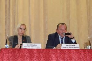 На встрече также присутствовала депутат Мосгордумы Татьяна Ломакина