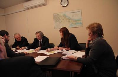 Депутаты обсудят дополнительные мероприятия по информированию жителей района Москворечье-Сабурово