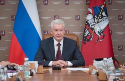 Мэр Москвы Сергей Собянин: Ситуация с пробками продолжает выпрямляться