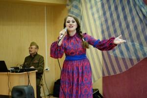 В районе Москворечье-Сабурово прошел концерт военной песни