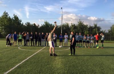 Молодежь района приняла участие в футбольном турнире