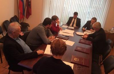 Заседания Совета депутатов муниципального округа Москворечье-Сабурово
