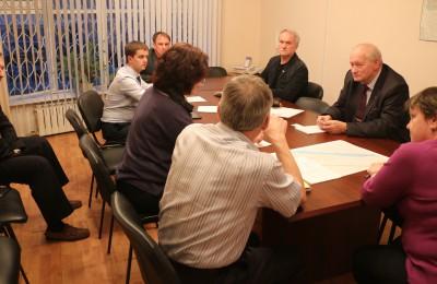 Заседание комиссии по развитию муниципального округа Москворечье-Сабурово пройдет в ближайший вторник