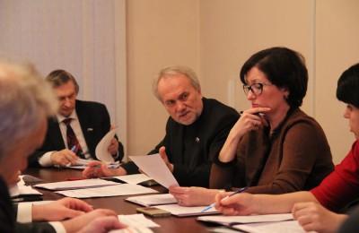 Очередное заседание Совета депутатов прошло в муниципальном округе Москворечье-Сабурово