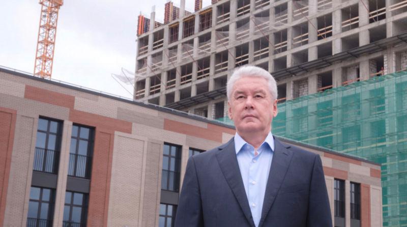 Наместе старых промзон возводится порядка 20% новейшей городской недвижимости— Сергей Собянин