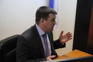 Глава управы района Москворечье-Сабурово Роман Заковыркин
