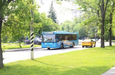 На юге столицы работает один из самых лучших водителей автобуса в городе
