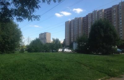 Сломанные деревья и сухостой исчезли с Кантемировской улицы