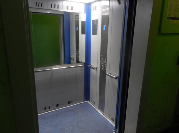 Новый лифт в районе Москворечье-Сабурово