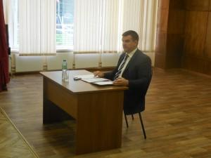 Глава управы Москворечье-Сабурово Роман Заковыркин