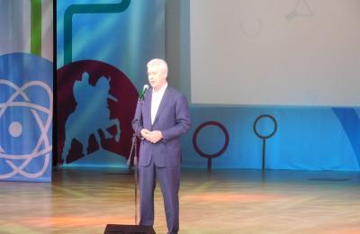 Мэр Москвы Сергей Собянин на закрытии Олимпиады