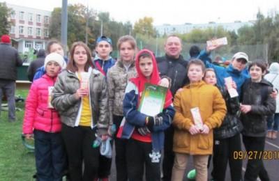 Команда Москворечья-Сабурова приняла участие в окружной «Зарнице»