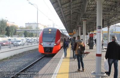 Будет увеличена составность поездов Московского центрального кольца (МЦК)