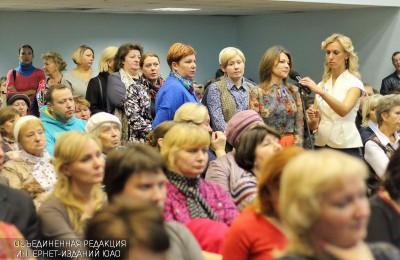 Жители ЮАО смогут задать вопросы и.о. префекта Ларисе Мартьяновой 26 октября