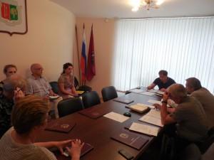 На заседании Совета депутатов муниципального округа Москворечье-Сабурово
