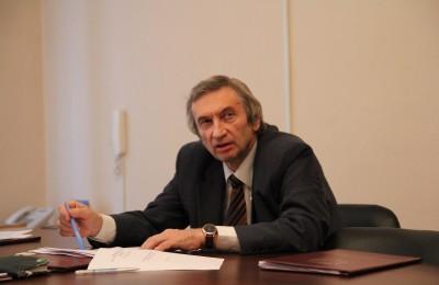 Глава муниципального образования Москворечье-Сабурово Михаил Вирин