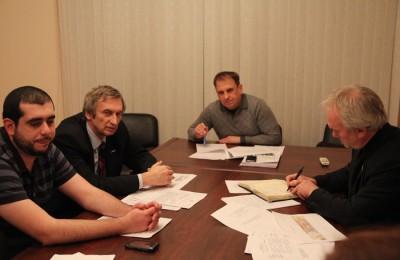 На заседании Комиссии по развитию